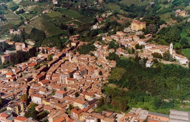 Paesaggio del Comune di  Canelli (AT).